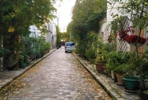 緑豊かなテルモピル通り~Rue des Thermopyles~