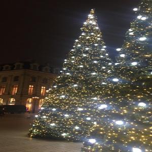 ヴァンドーム広場のクリスマスツリー 2019