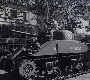 パリ解放75周年記念日