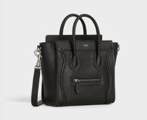 【セリーヌラゲージ ナノ レビュー】長財布もすっぽり入るハンド&ショルダー2WAYバッグ|CELINE