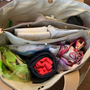 【完ミのマザーズバッグの中身】実は余分なものが多い!カバンの中身最小限にしてみました