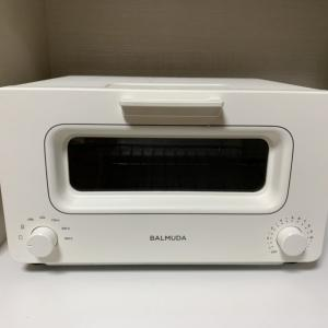 【BALMUDA The Toaster K01E-WS レビュー】自宅で簡単に焼き立てパンが食べられるスチームオーブントースター