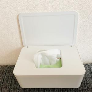 【無印良品 ポリプロピレン ウェットティッシュケース レビュー】白くてスタイリッシュ、片手で簡単に開けられるウェットティッシュケース