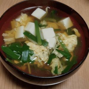 ニラ料理を作った件(゜∀゜)麻婆豆腐、たまニラスープ