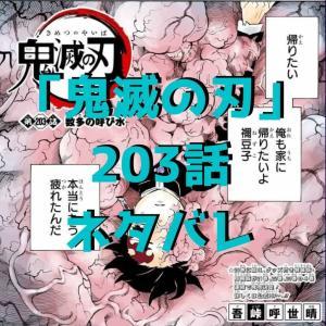 鬼滅の刃(きめつのやいば)203話ネタバレ|鬼化炭治郎が人間に戻る【数多の呼び水】
