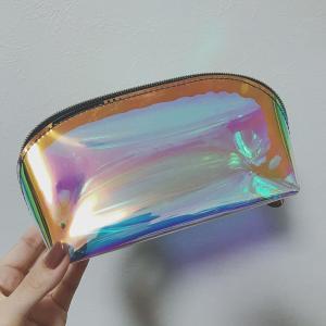 【購入品】ホログラムクリアポーチ♡