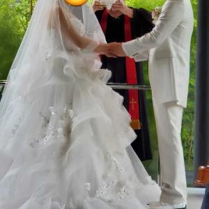 親友の結婚式で思わず涙…父への涙にならなくて良かった。