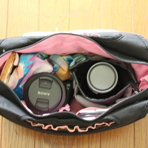 一眼レフも替えのレンズも入って、カメラ女子が使える「かわいいカメラバッグ」が欲しい!