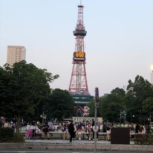 本来この時期札幌はイベントが盛りだくさんのはずが...