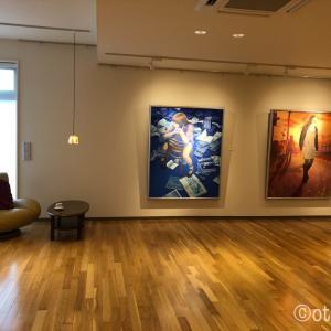 札幌、HOKUBU記念絵画館で貸切で絵を見る