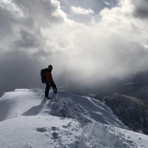 2021年正月 弟と登った武尊山