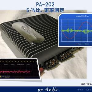 Nakamichi PA-202 SDS1102を使って 歪み率、S/N比 測定を