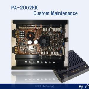 オーディオと電源回路(PA-2002 KK)