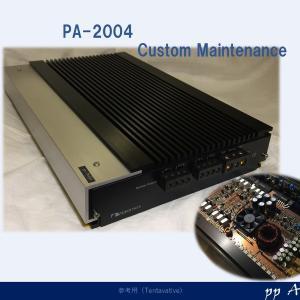 オーディオと電源回路 (PA-2004カスタム)