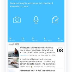 【習慣化アプリラボ】振り返り習慣のための日記アプリDayOneレビュー 1.69