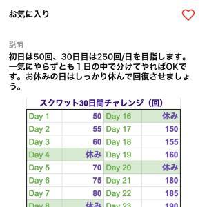 運動習慣の行動コーチ 〜コーチアプリβ版に向け30日間スクワットチャレンジをデザイン〜 0.76