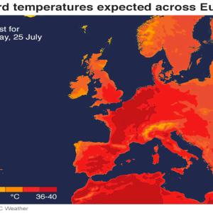 熱波によりヨーロッパで異常な猛暑 その原因と被害