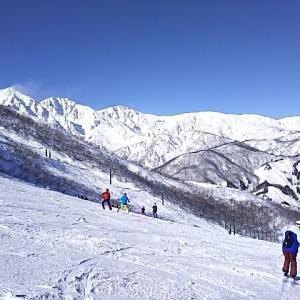 週末は西で大人の雪遊び 予定