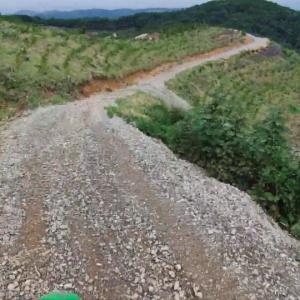 KLX250 絶景の林道 再び