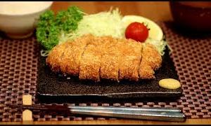 "【ASMR】Sounds of making ""tonkatsu"".【赤髪のとも】"