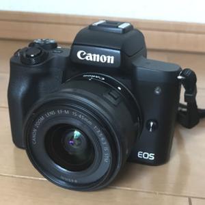 ミラーレス一眼カメラのCANON EOS Kiss Mを買ったよ!