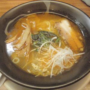 らーめん 一生 長岡駅近くで夜遅くまで食べられる「海老しおらーめん」