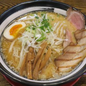 拉麺 笑星 鵜ノ子インター近くで食べられる濃厚煮干し味噌