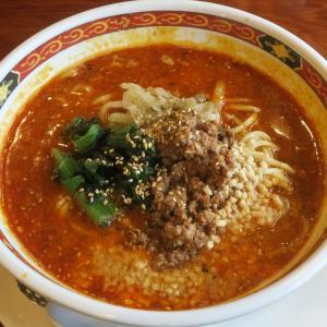 かなみ屋 女池上山店 インパクト満点な旨辛スープの四川担々麺
