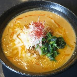 麺家 太威 インパクト抜群な旨辛スープの濃厚チーズ味噌担々麺