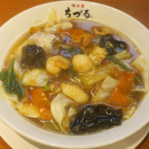 味の店 ちづる 具材豊富な五目うま煮麺