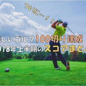 【嬉しい】ゴルフ100切りを達成!みんなの目標を4年半で到達しました!