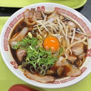 醤油のコクが美味い京都ブラック:新福菜館の新福そば