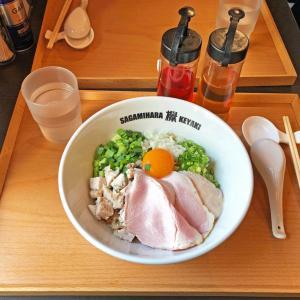 限定のまぜ麺は無化調ならではの味:Sagamihara欅