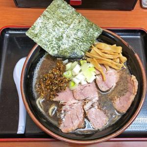 人気メニューが限定復活:肉煮干中華そば鈴木ラーメン店の「黒マー油豚骨ラーメン」