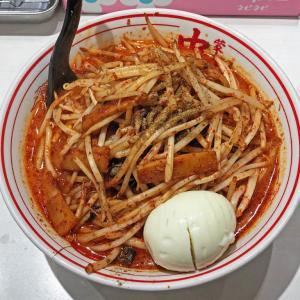 山椒と香ばしく炒めたメンマが旨い:蒙古タンメン中本の北極の炎