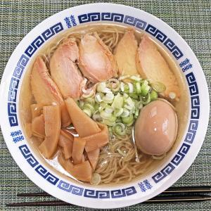外出自粛で持ち帰りラーメン:天国屋の「飛び魚鮭節塩麺」②