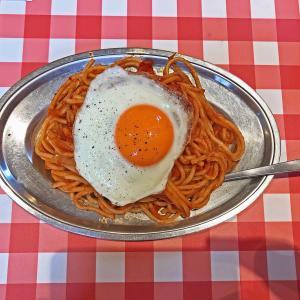 久しぶりのナポリタン:スパゲティのパンチョ相模原店