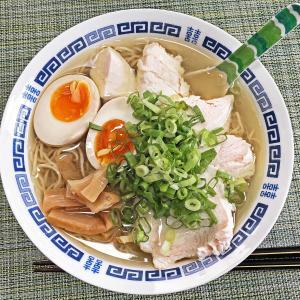 お土産ラーメン:超純水彩麺 天国屋の「濱地鶏と東京軍鶏麺(塩)」