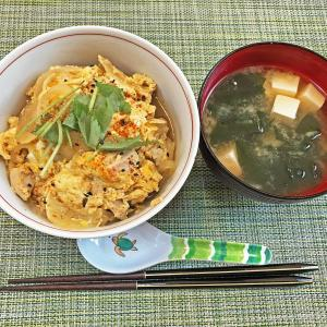 今日のレシピ:ふわトロ親子丼