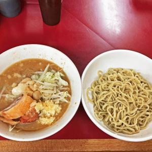 スモジの夏の新味「青じそつけ麺」が旨かった!:ラーメン二郎相模大野店