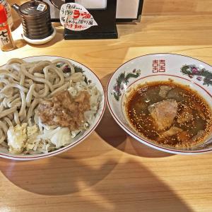超極太麺が旨い!:特選ラー油 肉そば 寅やの「寅や郎ラーメン」