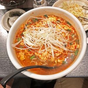 「宮崎辛麺」はニュータンタンメンに近い?:焼肉 味ん味ん 相模大野店