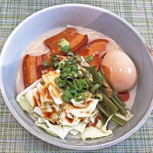 お取り寄せでお家ラーメン:桂花ラーメンで「太肉麺」を作ろう!