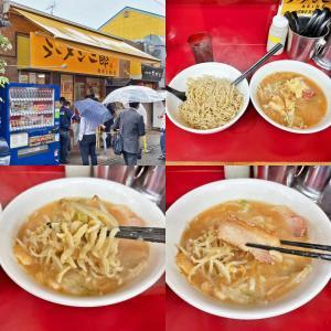 スモジの「ニンニクとゴマ油のつけ麺〜あつもり〜」