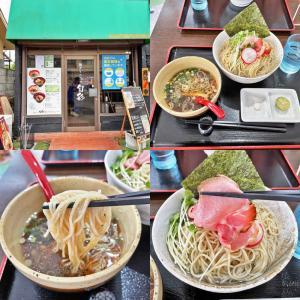 週末限定の「昆布水つけ麺」と「貝塩ラーメン」:麺ダイニング 旬彩