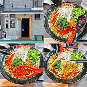 リニューアル後、待望の「がん担麺」復活:ラーメン食堂 がん家