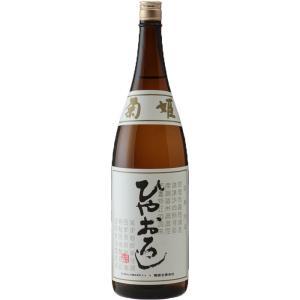 秋の日本酒「ひやおろし」:その12.菊姫 純米 ひやおろし