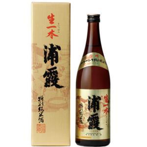 燗して旨い日本酒その16:株式会社佐浦 浦霞 特別純米酒 生一本