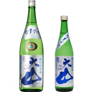 「夏の生酒」その6:加藤嘉八郎酒造 大山 特別純米 生酒