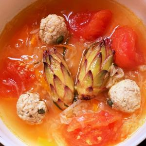 築地の二日酔対策レシピ100選 no.9 ドラゴンフルーツの蕾のスープ
